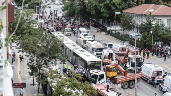Ankara Dikimevi'nde büyük kaza: 12 ölü