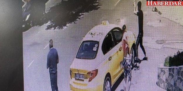 Annesine sarkıntılık yapan taksiciyi demir sopayla böyle dövdü