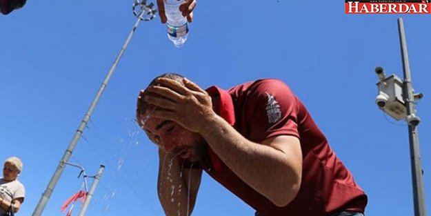 Antalya sıcaktan kavruluyor! Gece sıcaklığı bile 35 dereceye yaklaştı