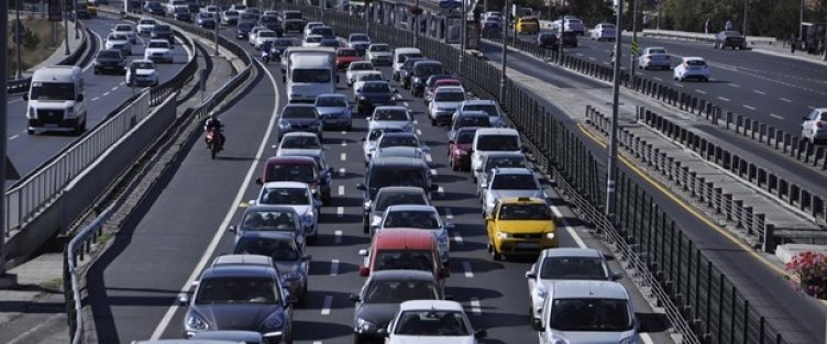 Araç sayısı 19.5 milyona çıktı
