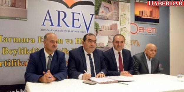 Arev'in Cami ve Vakıf Hizmet Projesi İçin Protokol İmzaları Atıldı
