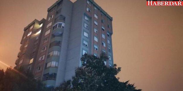 Ataşehir'de 8. kattan düşen kadın doktor ağır yaralandı