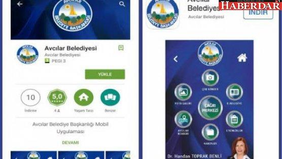 Avcılar Belediyesi mobil uygulamaya geçti