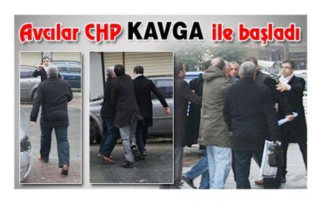 AVCILAR CHP'DE KAVGA!