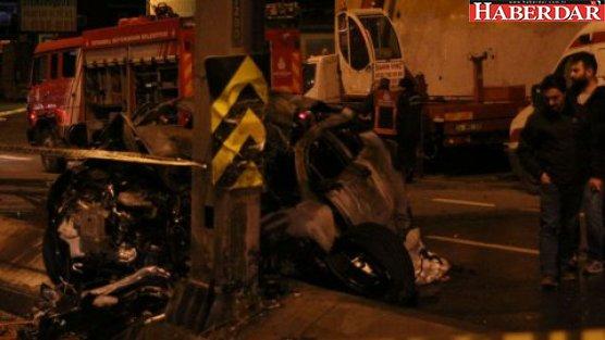 Avcılar'da feci kaza: 2 ölü