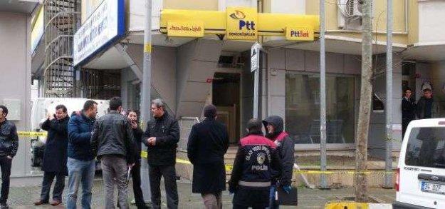 Avcılarda PTT soygunu