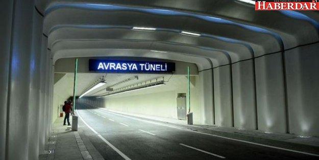 Avrasya Tüneli'ni kullanan sürücüler dikkat