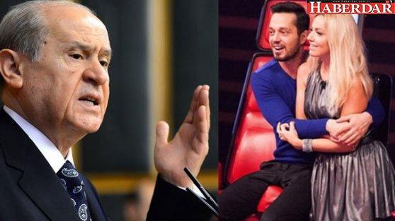 Bahçeli'den Murat Boz ve Hadise'ye telefon!