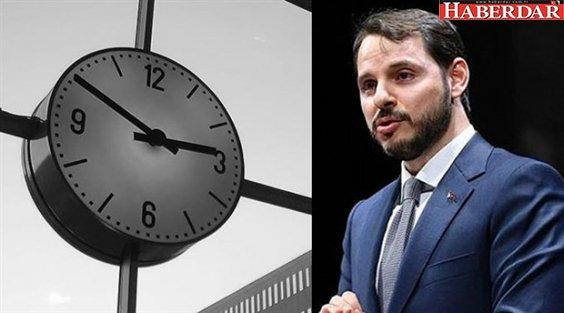 Bakan Albayrak'tan yaz saati açıklaması geldi