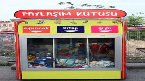 Bakırköy Belediyesi'nden Paylaşım Noktası