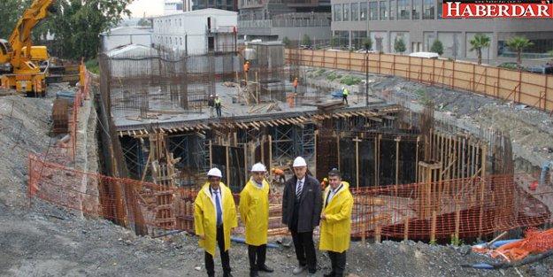 Bakırköy Cemevi ve Kültür Merkezi inşaatı devam ediyor