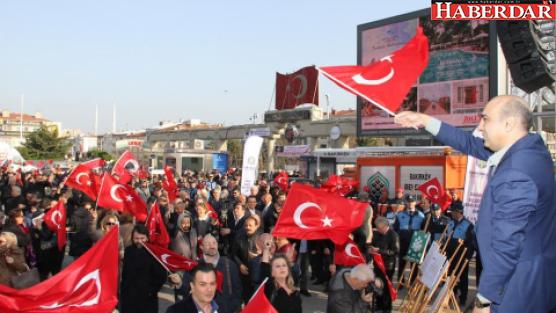 Bakırköy'de 'hayır' çağrısı