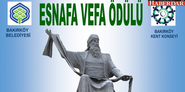 """BAKIRKÖY'DE EN ESKİ 15 ESNAFA,""""ESNAFA VEFA ÖDÜLÜ"""""""