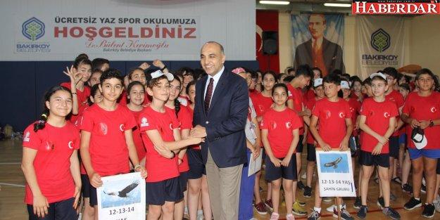 BAKIRKÖY'DE SPORCU FABRİKASI