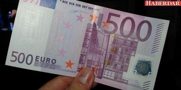 Bankalar 500 Euro'yu kabul etmiyor