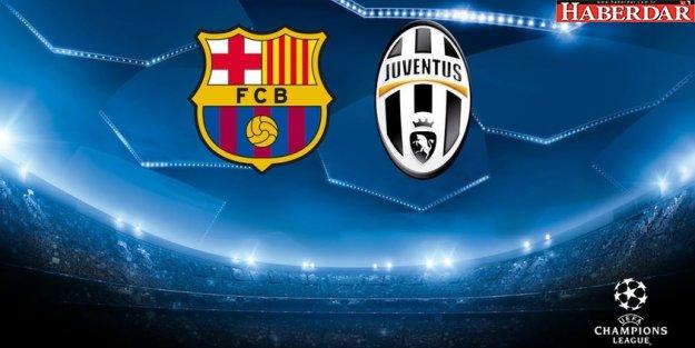 Barcelona-Juventus maçı ne zaman şifresiz hangi kanalda saat kaçta?