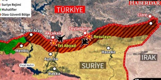 Barış Pınarı Harekâtı'nda son durum