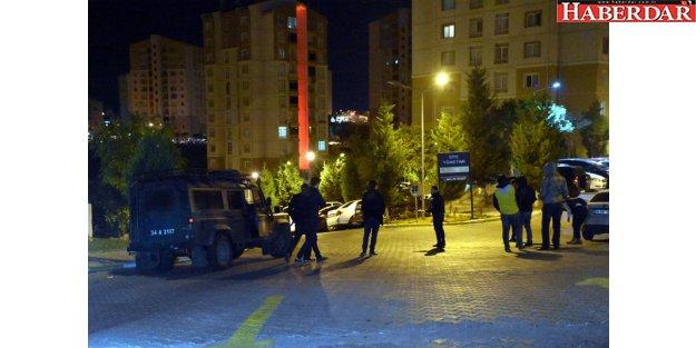 Başakşehir'de lüks siteye DAEŞ operasyonu