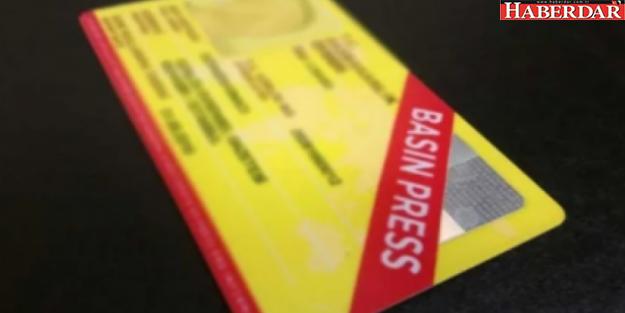 Basın kartlarıyla ilgili önemli duyuru