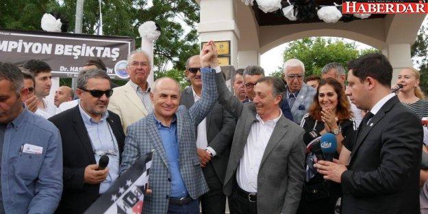 Başkan Akgün: Beşiktaş Türk sporunun öncüsüdür!
