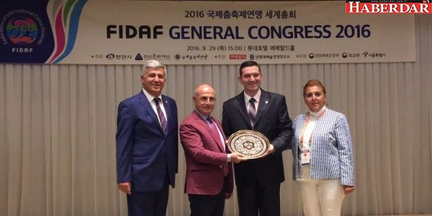 Başkan Akgün'e Kore'de büyük onur