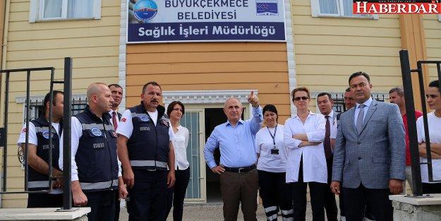 Başkan Akgün: 'Sağlık İşleri Müdürlüğü'müz Önemli Hizmetlere İmza Attı'