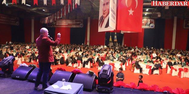 Başkan Akgün: Tüm ödüllerin gerçek sahibi bizzat sizsiniz!