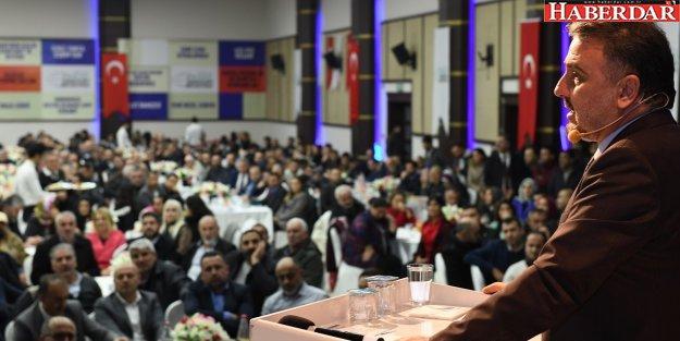 Başkan Alatepe, 12 aylık icraatını halkla paylaştı
