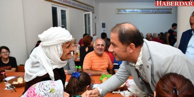 Başkan Çalık canlarla Gürpınar Cemevi'nde buluştu