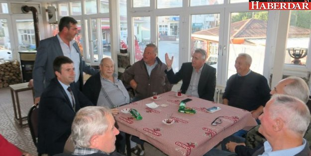 Başkan Cem Kara Yalıköy'de