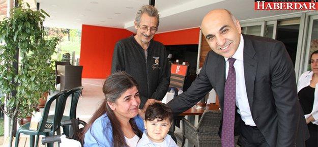 Başkan Kerimoğlu, ALS-MNH hastalarıyla bir araya geldi