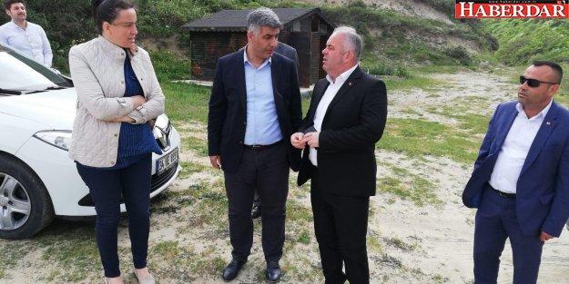 Başkan Mesut Üner'den Yalıköy Mahallesine Ziyaret