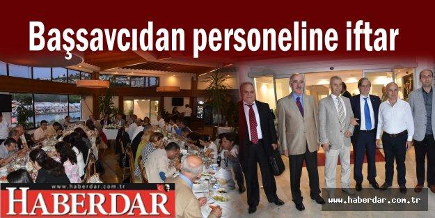 Başsavcıdan personeline iftar
