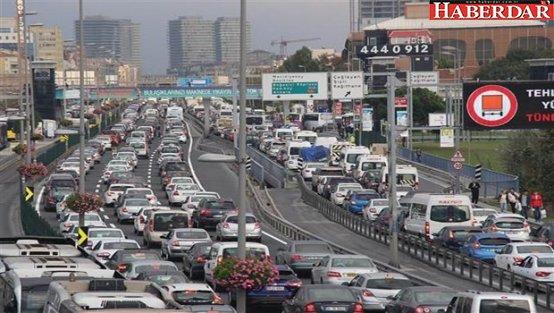 Bayram trafiği erken başladı