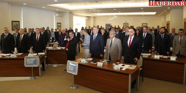 Belediye Meclisi'nden Başkan Akgün'e teşekkür