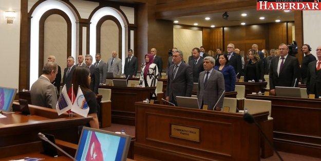 Belediye Meclisi'nden Afrin kahramanlarına anlamlı destek