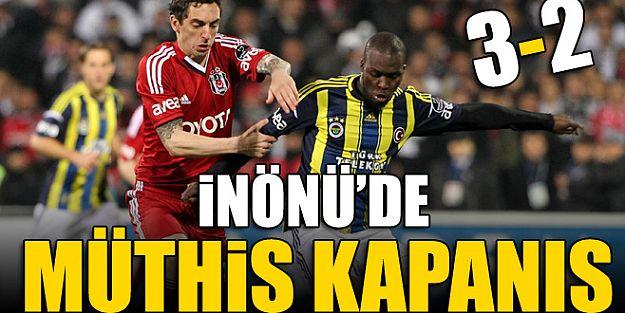 Beşiktaş 3-2 Fenerbahçe