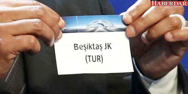 Beşiktaş'ın Şampiyonlar Ligindeki Muhtemel Rakipleri Belli Oldu