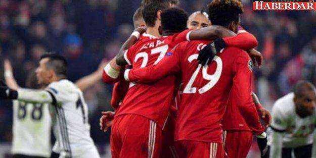 Beşiktaş Münih'te yıkıldı!