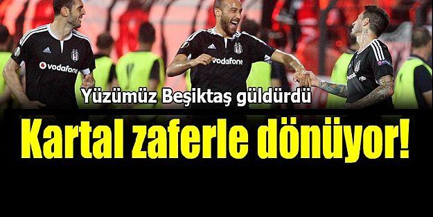 Beşiktaş'tan Avrupa'ya selam
