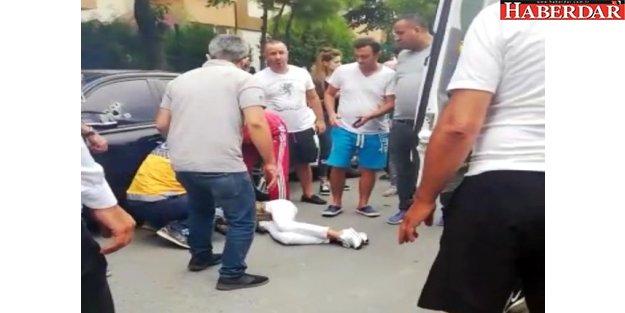 Beylikdüzü'nde Otomobile Silahla Saldırı