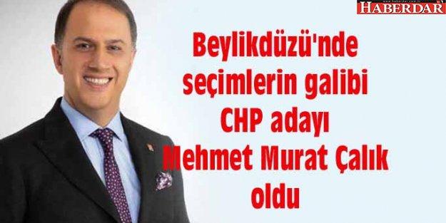 Beylikdüzü'nde seçimlerin galibi CHP adayı Mehmet Murat Çalık