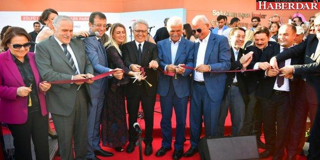 Beylikdüzü'nde Zülfü Livaneli Özgürlük Parkı Açıldı