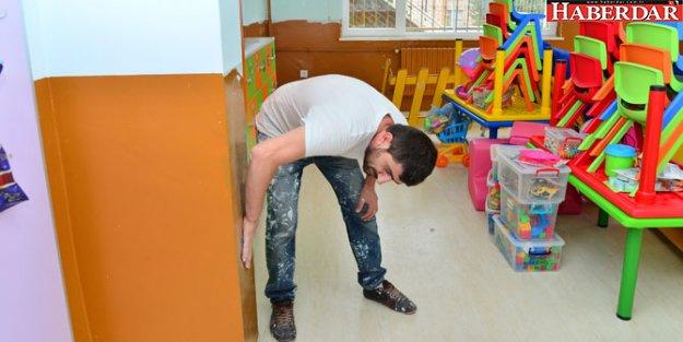 Beylikdüzü'ndeki okullarda bakım ve onarım