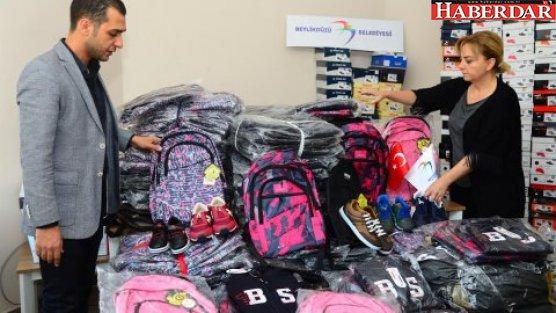 Bin çocuğun okul ihtiyaçları giderildi