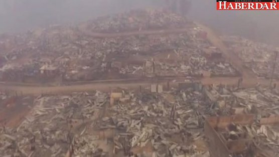 Bir kent kül oldu