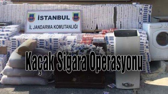 Bölgemizde Kaçak Sigara Operasyonu