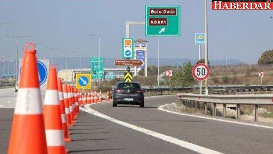 Bolu Dağı Tüneli'nin İstanbul yönü kapatıldı