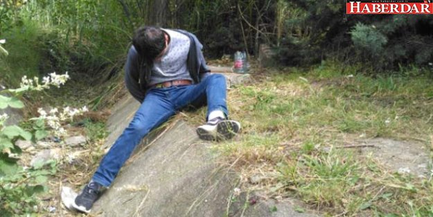 Bonzainin Etkisindeki Genç, Tem Otoyolu Kenarına Yattı