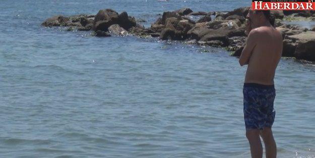 Botla denize açılan 4 kişiden biri boğuldu